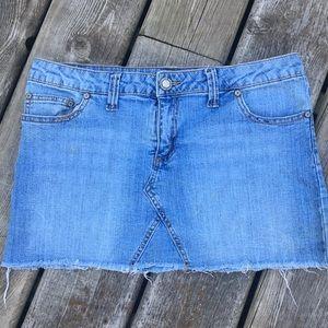 Bongo Denim Skirt size 7